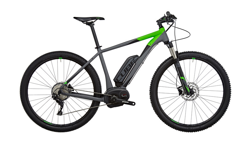 Cube Reaction Hybrid HPA Race 500 E-mountainbike grå